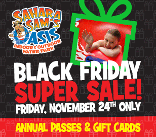 SAHARA SAM'S BLACK FRIDAY SALE in Sahara Sam's Oasis