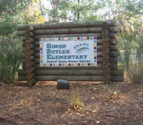 Simon Butler Elementary School in Chalfont, Bucks County, PA